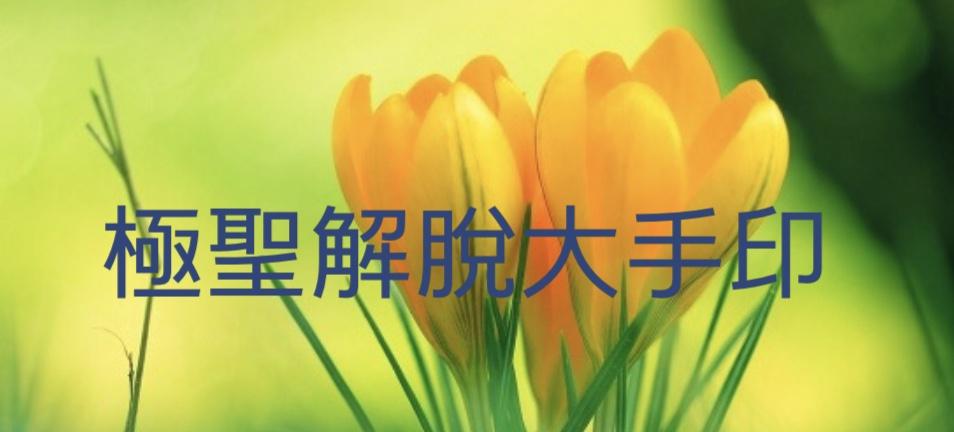 第三世多杰羌佛 說法《極聖解脫大手印》