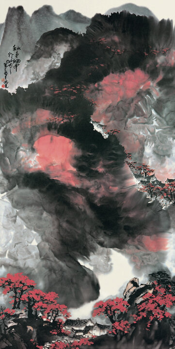 Mist, Clouds, and Autumnal Color(秋色烟雲)