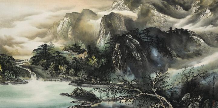 Dragon Pond in Peach Blossom Mountain Village (桃花山莊之龍潭湖)